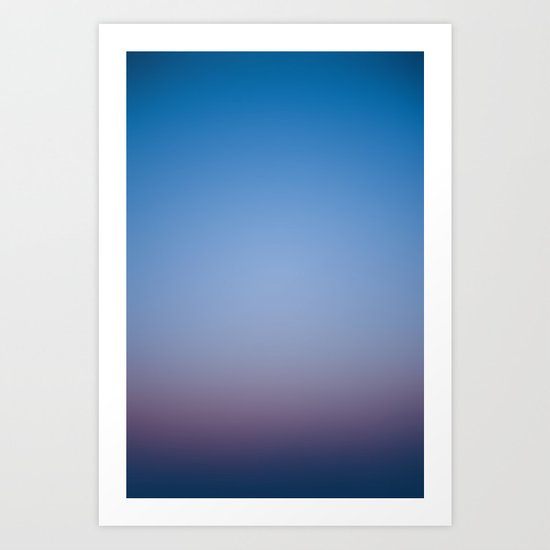 Sunset Gradient 2 Art Print