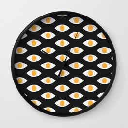 eye pattern Wall Clock
