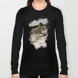 Dylan White Long Sleeve T-shirt