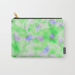 MODERN STYLISH TRENDY GREEN DIGITAL ABSTRACT Carry-All Pouch