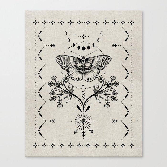 Magical Moth Leinwanddruck