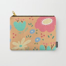 Garden Whimsy Carry-All Pouch