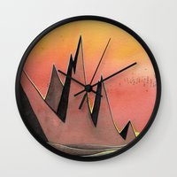 hare Wall Clocks featuring Hare by Kristin Rian