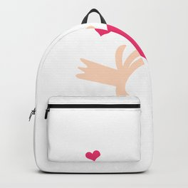 Mr. Steal Your Heart Backpack