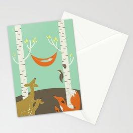 Woodland Baby Stationery Cards