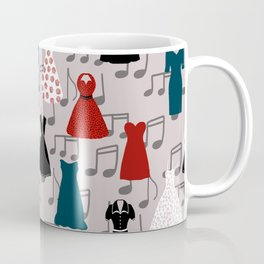 Rockabilly Dresses Coffee Mug