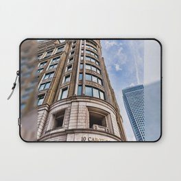 London Photography Canary Wharf Cabot Square Laptop Sleeve