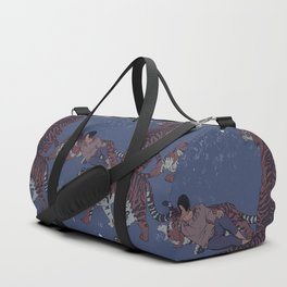 Tiger Pattern Duffle Bag