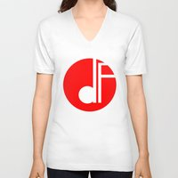 logo V-neck T-shirts featuring logo by davefallonphotography