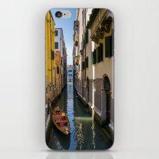 Boat in Venice iPhone & iPod Skin