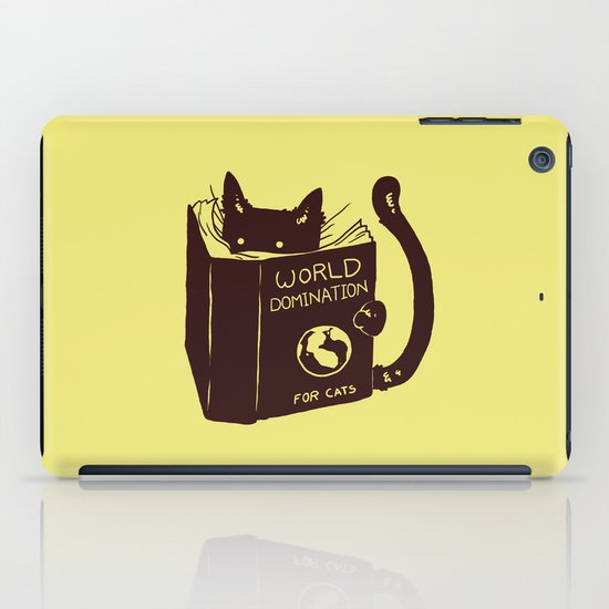 World Domination (for cats) iPad Case