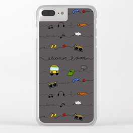 Eleanor&Park B Clear iPhone Case