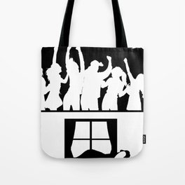 Party all night - sleep all day Tote Bag
