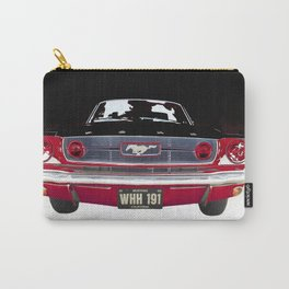 Vintage Mustang Classic Car Carry-All Pouch