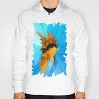 butterfly Hoodies featuring Butterfly by Paul Kimble