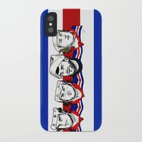 power rangers iPhone & iPod Cases featuring Rangers by Kana Aiysoublood