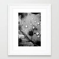 leaf Framed Art Prints featuring leaf by Bonnie Jakobsen-Martin