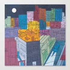 Seoul City #4 Canvas Print