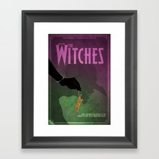 The Witches Poster Framed Art Print