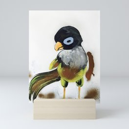 When You Are Royally Created, Baby Parrot Mini Art Print