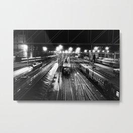 Novosibirsk - Main railway station. Metal Print