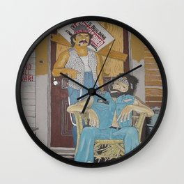 Living Legends Wall Clock