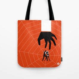 Orange Dr No Tote Bag