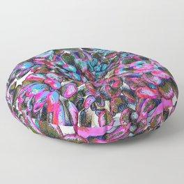Floral tribute [pixie] Floor Pillow