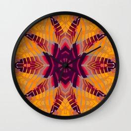 Aztec Spider Wall Clock