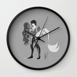 Seeing Things Wall Clock