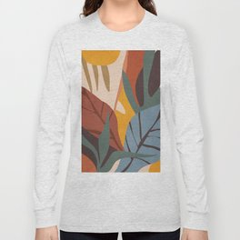 Abstract Art Jungle Long Sleeve T-shirt