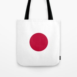 Flag: Japan Tote Bag