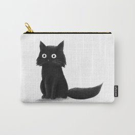 Sitting Cat (mono) Carry-All Pouch