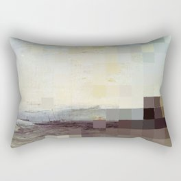 A Ship Aground Rectangular Pillow