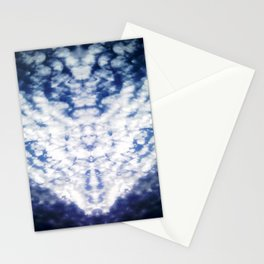 Blue Heaven Angelic Host Stationery Cards