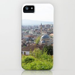 Prizren, Kosovo view iPhone Case