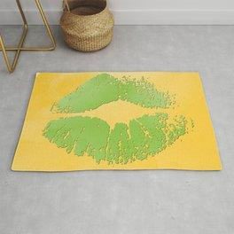 dp048-2 Watercolor kiss Rug