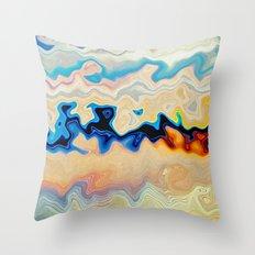 EYE OF THE HURRICANE Throw Pillow