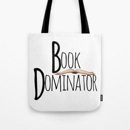Book Dominator Tote Bag