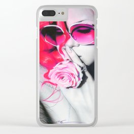 'Rihanna' Clear iPhone Case
