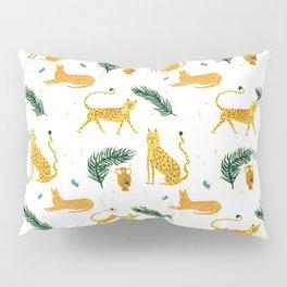 Big Cat Party Pillow Sham