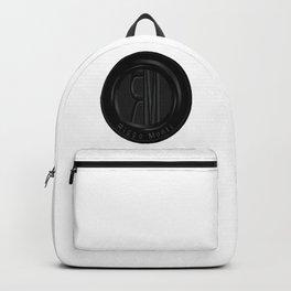Riggo Monti Design #2 - Riggo Emblem (Wht. Bkgrnd.) Backpack