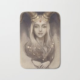 Zodiac Capricorn Bath Mat
