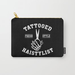 Hairdresser, dog, tatoo Carry-All Pouch