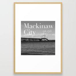Mackinaw City Framed Art Print