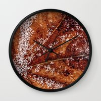 sprinkles Wall Clocks featuring sprinkles by Bonnie Jakobsen-Martin