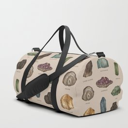 Gems and Minerals Duffle Bag