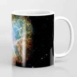 The Crab Nebula Supernova remnant Coffee Mug