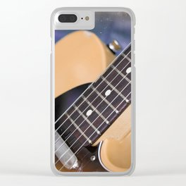Telecaster Clear iPhone Case