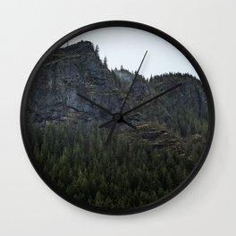 Rattlesnake Mountain Wall Clock